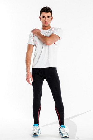 LWS/M/004/PD (men's black thick leggings)