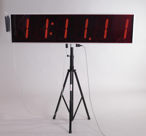 T6-RCU (LED race clock with results option)
