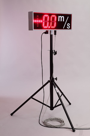 T3-WS (wind velocity led display)