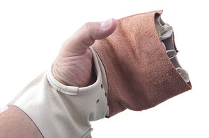 TCHGL (competition hammer hard leather glove)
