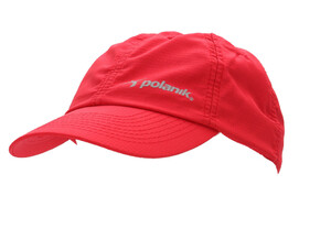 CBC/001 Coolmax running cap, red