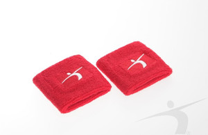 FS14/001 Sports wristbands red