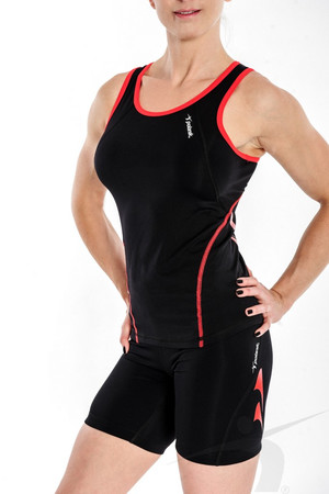 KZS/D/004/PD (women's black singlet)