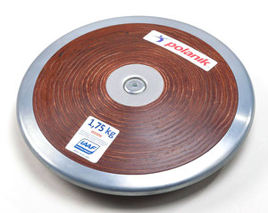 HPD17-1,75 (Competition hard plywood discus with central plate)
