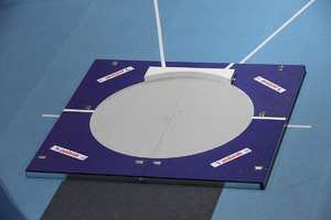 SP0319 (portable shot put throwing circle with toe board)