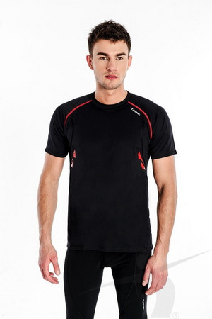 TSS/M/004/PD (men's black T-shirt)