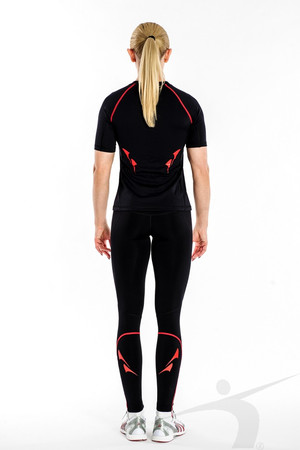 LWS/D/004/PD (women's black thick leggings)