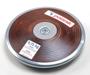 HPD17-0,75-R6 (Competition hard plywood discus with central plate)