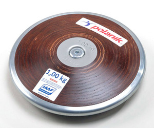 HPD17-1 (Competition hard plywood discus with central plate)