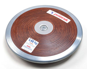 HPD17-1,6 (Competition hard plywood discus with central plate)