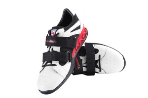 WL9501R-P (weightlifting shoes, white-red)
