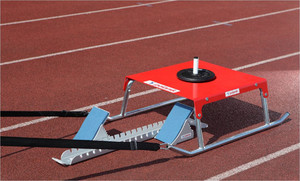 SAN18-S0566 (training collapsible sled with waist belt for a start from starting blocks)