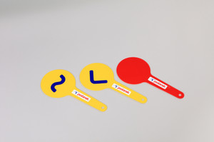 TSC-3 (set of race walking judges paddles)