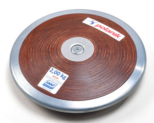 HPD17-2 (Competition hard plywood discus with central plate)