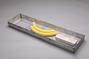 K3-250 (Stainless steel foundation tray with accesories)