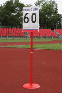 T2-S410 (pole vault stand position board)