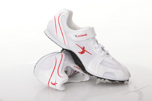 P2607AP (sprint spikes, white-red)