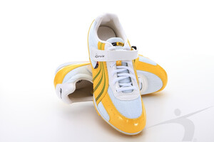 T3101B (triple jump spikes, yellow-white)